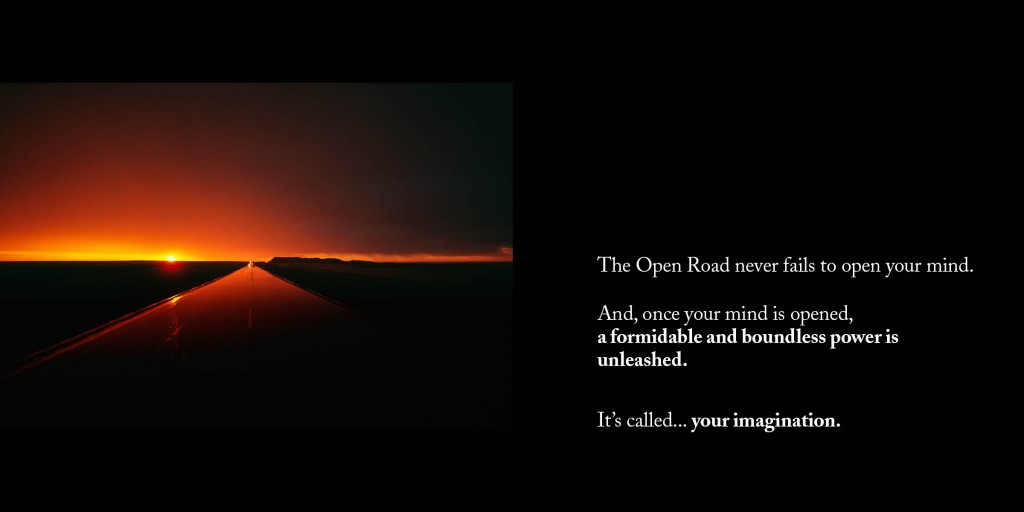 Sample pages from 'Open Roads Open Minds' by Steve Uzzell