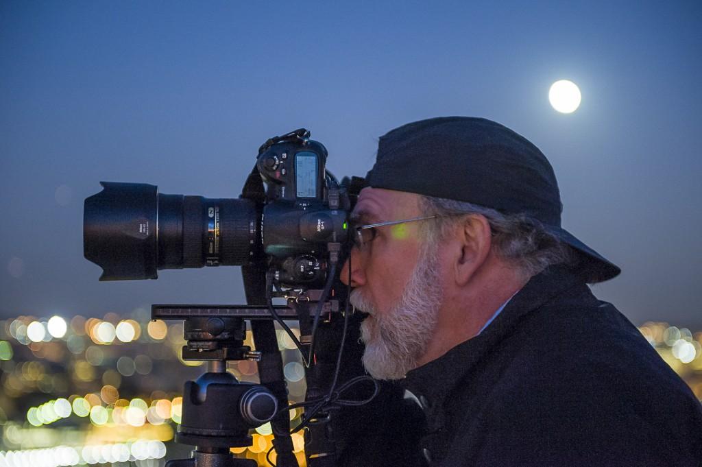 Steve Uzzell photographed by Susan Lambert